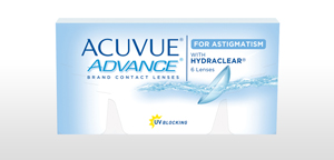 ACUVUE® ADVANCE® for ASTIGMATISM
