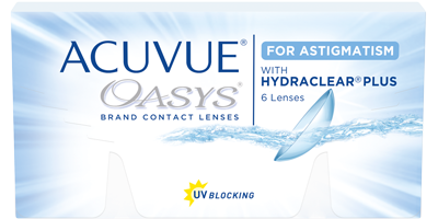 ACUVUE® OASYS® for ASTIGMATISM product packshot